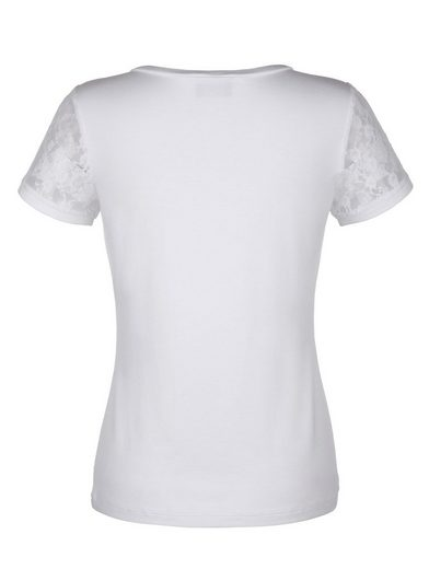 Amy Vermont Shirt With Inserted Lace Sleeves