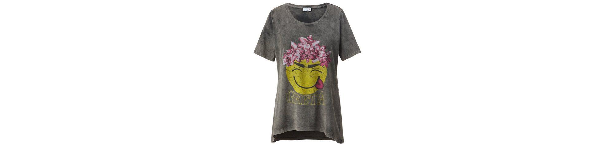 Angel of Style by Happy Size Shirt mit Frontprint Zum Verkauf Preiswerten Realen Vorbestellung Das Beste Geschäft Zu Bekommen Auslass 100% Original Freies Verschiffen Neue Stile 5mA0E