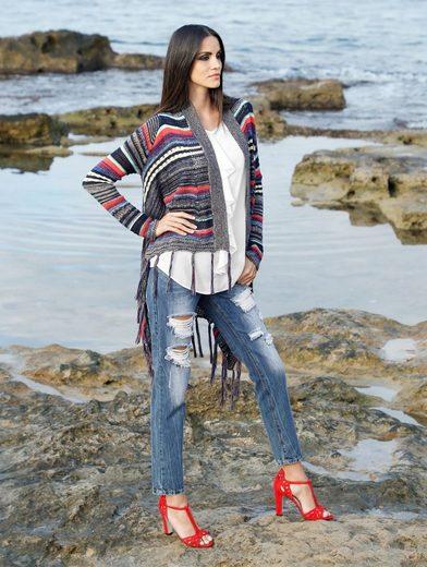 Amy Vermont Jeans mit Destroyed-Effekten
