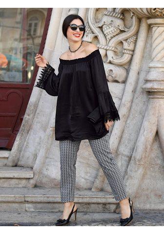 SARA LINDHOLM BY HAPPY SIZE Palaidinė su ispaniško stiliaus ir nėr...