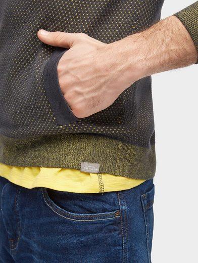 Tom Tailor Strickpullover Strickpullover mit Taschen