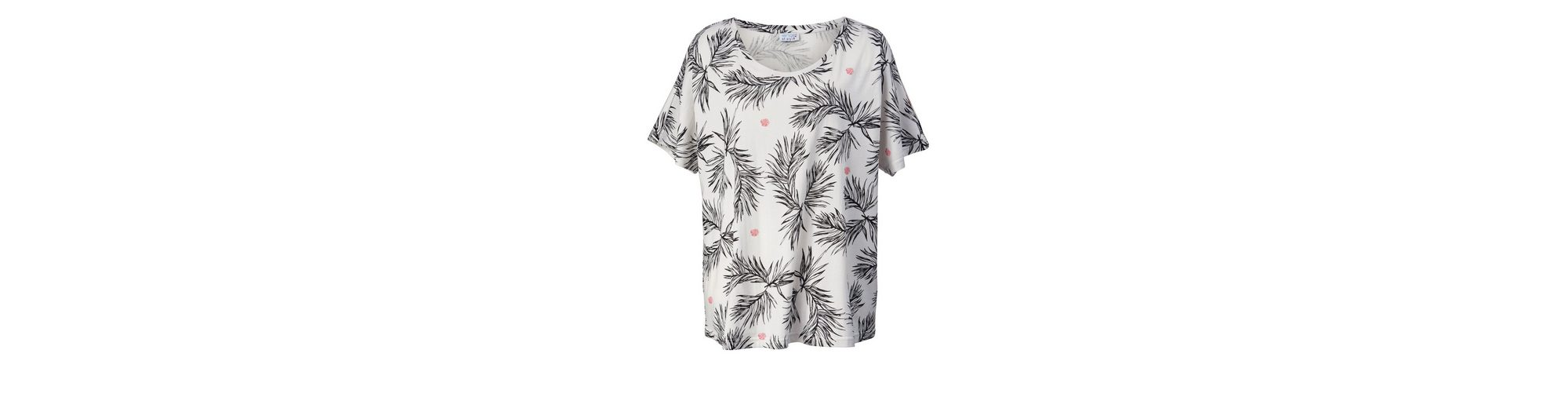 Austrittsstellen Zum Verkauf Niedrig Versandkosten Angel of Style by Happy Size Shirt in Oversize-Form mit Allover-Print MJDwZ