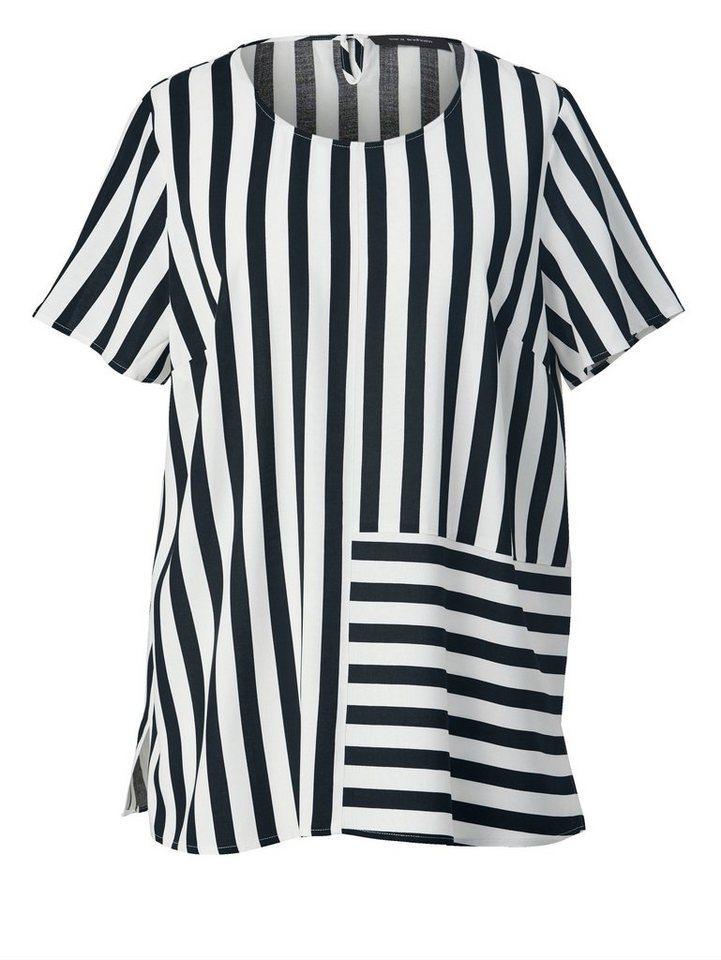 Sara Lindholm by Happy Size Bluse gestreift kaufen   OTTO c032494563
