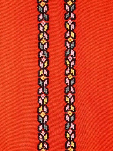 Amy Vermont Tunika mit Kreuzstich-Stickerei