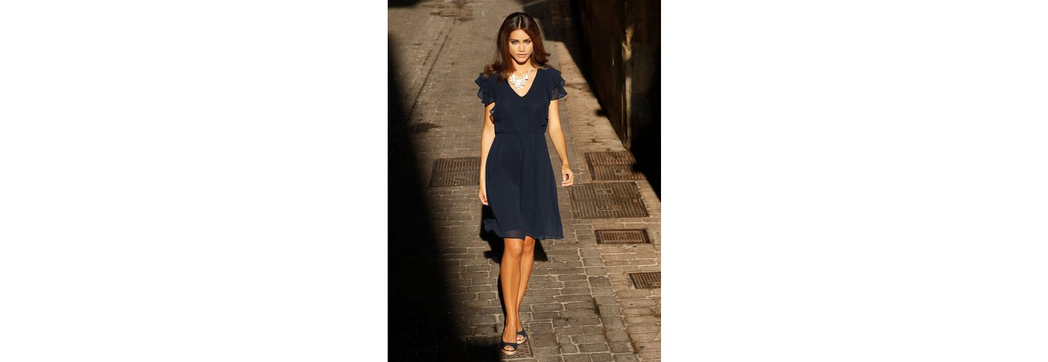 Amy Vermont Kleid mit Volant am Ärmel Auslass Fälschen Outlet Kaufen sUEAZ