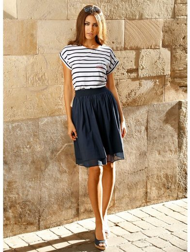 Amy Vermont Skirt With Chiffon Hem