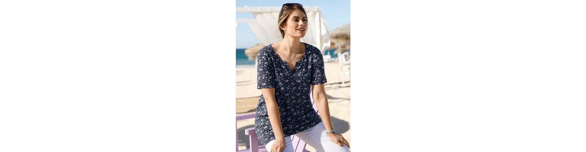 Tunika und Print Jersey Happy by Size Blumen Janet Joyce mit F1wAqYZw