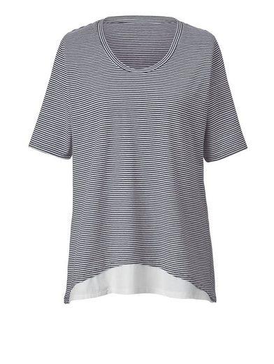 Janet und Joyce by Happy Size 2-in-1-Shirt gestreift