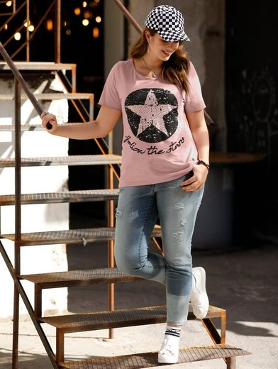 Angel of Style by Happy Size Shirt mit Frontmotiv