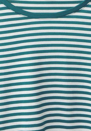 Street One Streifen Shirt mit Volants