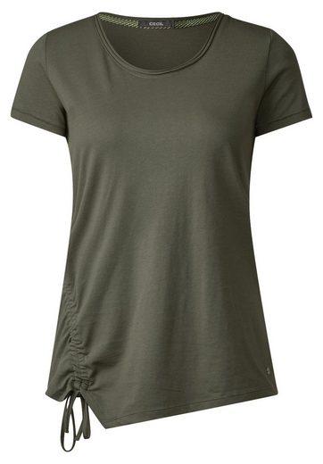 CECIL T-Shirt mit Raffung