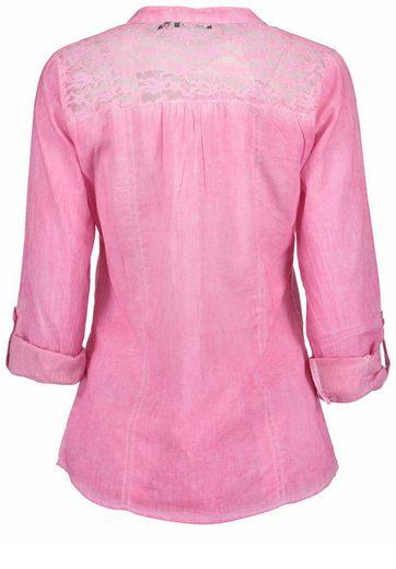 Blue Seven Klassische Bluse mit modischer Waschung