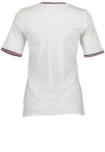 Blue Seven T-Shirt mit Streifen-Applikationen