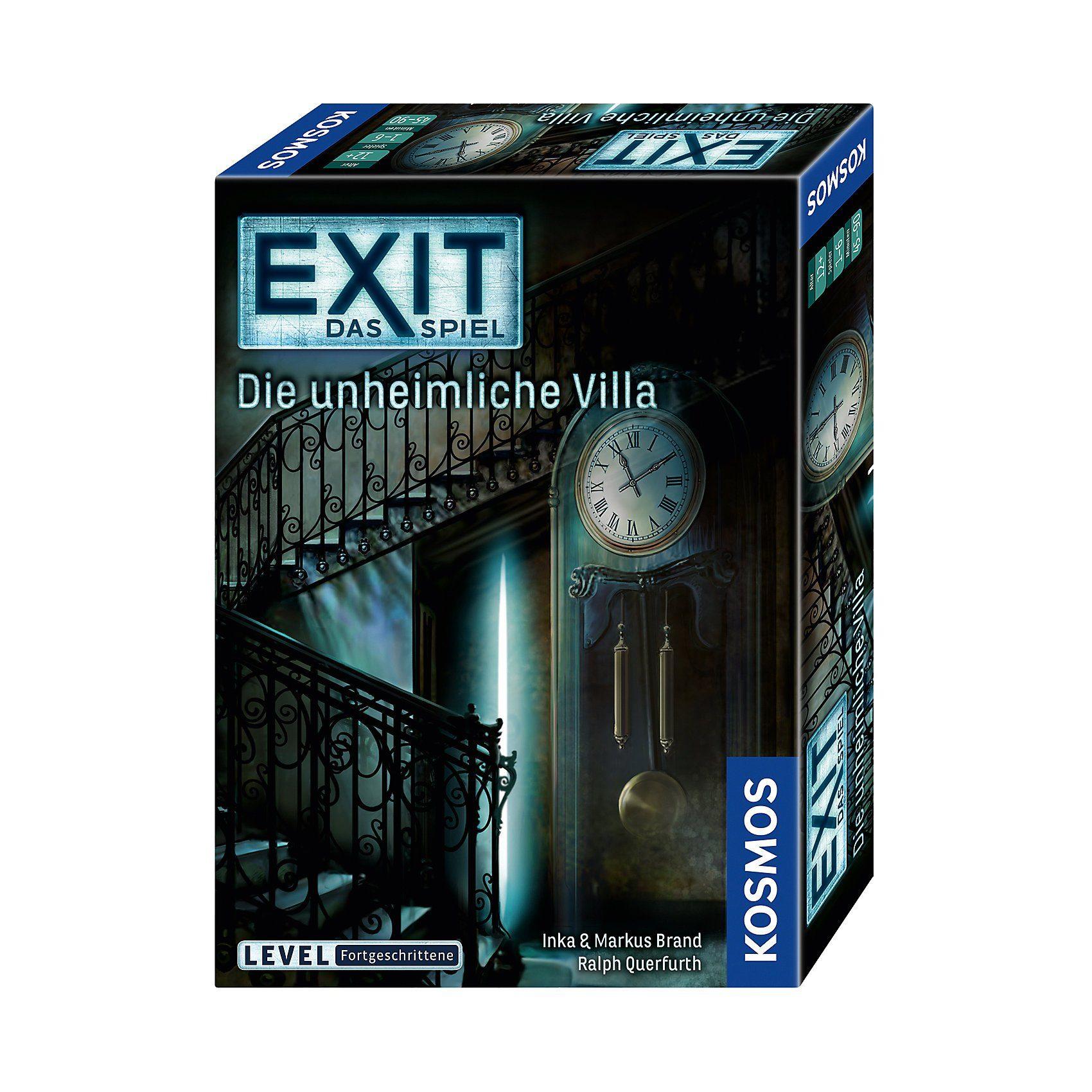 Kosmos EXIT - Das Spiel - Die unheimliche Villa