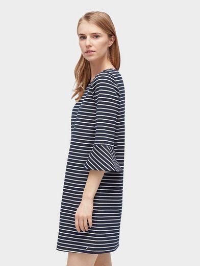 Tom Tailor Denim Jerseykleid gestreiftes Kleid