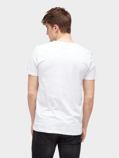Tom Tailor Denim T-Shirt T-Shirt mit Logo-Print vorne