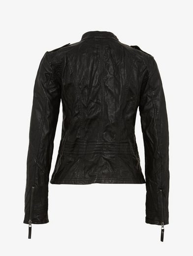 Tom Tailor Lederimitatjacke Jacke in Leder-Optik