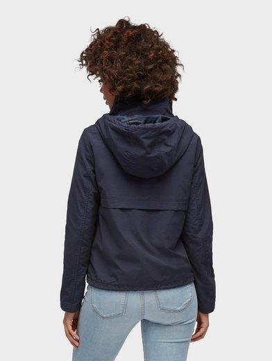Tom Tailor Denim Anorak schlichte Jacke