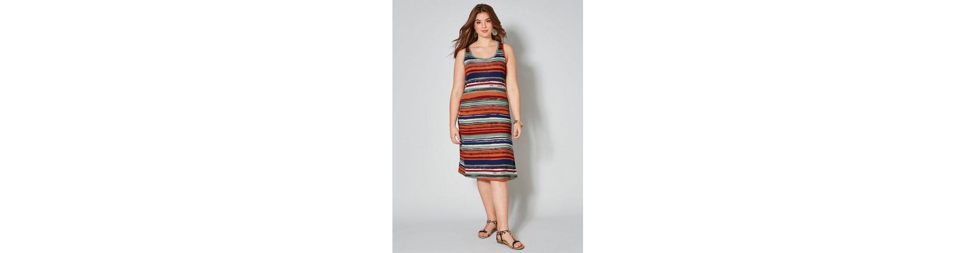 Günstigsten Preis Online Angel of Style by Happy Size Jersey-Kleid gestreift Billig Verkauf Für Billig Online-Suche Zu Verkaufen Billig Verkauf Ausgezeichnet 2018 Günstig Online bMqIY