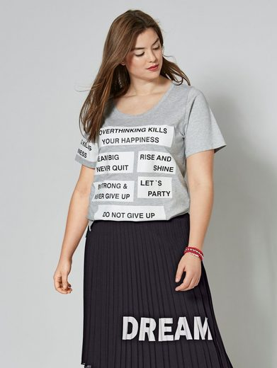 Angel of Style by Happy Size Shirt in Oversize-Form
