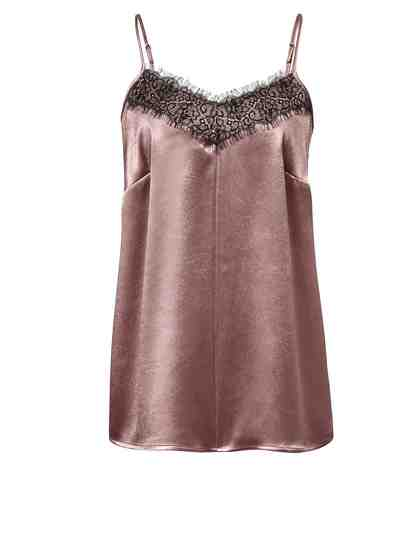 Angel of Style by Happy Size Top mit Spitze