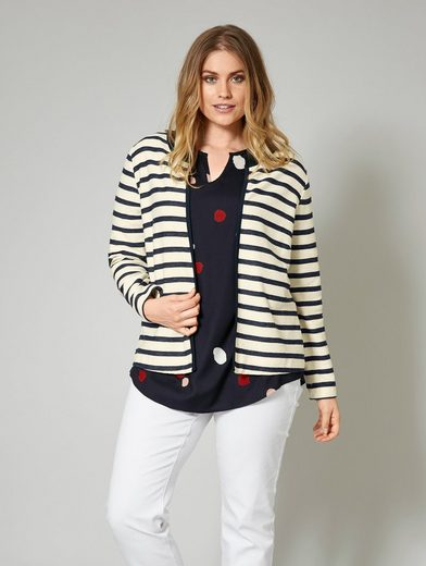 Janet And Joyce By Happy Size Sweater Striped