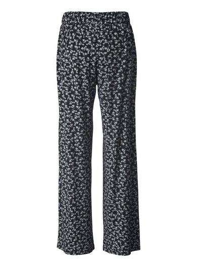 Janet Und Joyce By Happy Size Jersey-hose Mit Allover-print