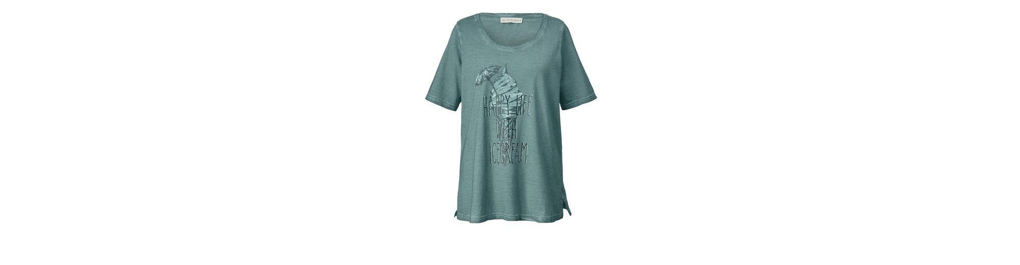Janet und Joyce by Happy Size Shirt oil wash Outlet Neuesten Kollektionen EBNMiP