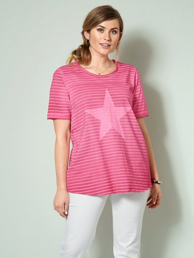 Janet und Joyce by Happy Size Shirt gestreift