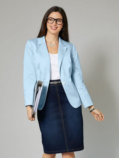Sara Size Blazer Hellblau Happy Lindholm By tBrsChQdx
