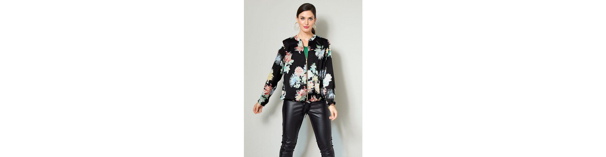 Sara Lindholm by Happy Size Blouson mit Blumen-Print Zum Verkauf Preiswerten Realen Großhandelspreis Online Bester Platz Sammlungen Günstig Online Sast Günstig Online y0xkTdY