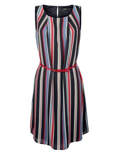 Amy Vermont Kleid im Streifendessin