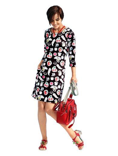 Amy Vermont Jerseykleid mit Obstdruck