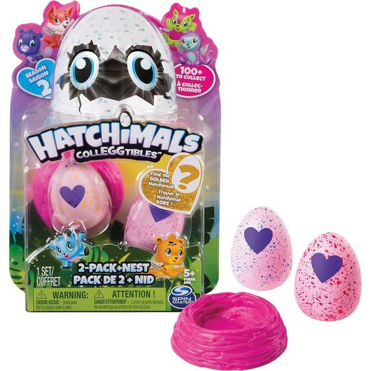 Spin Master Hatchimals Colleggtibles 2 Pack + Nest S2