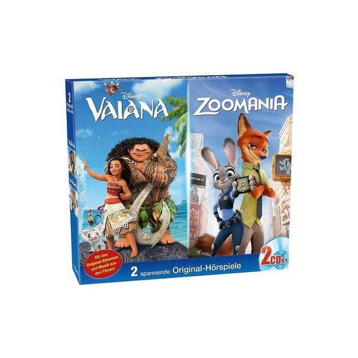 Kiddinx CD Disney Vaiana & Zoomania (Doppel-Box)