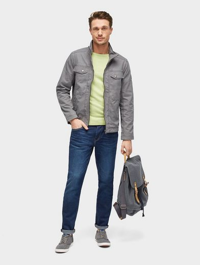 Tom Tailor Blouson Jacket With Pockets
