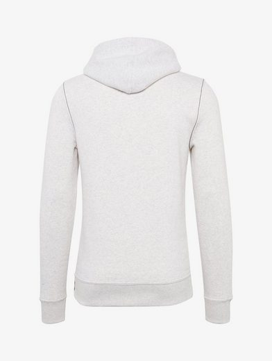 Tom Tailor Sweater Hoodie in Melange-Optik mit Print