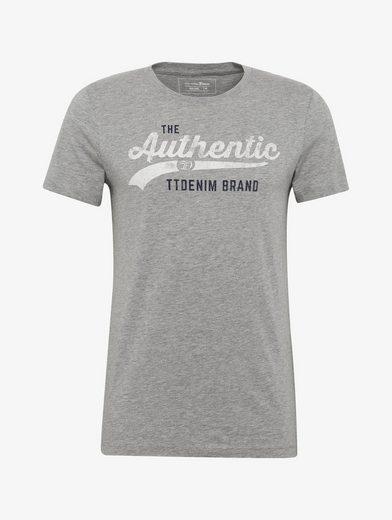 Tom Tailor Denim T-Shirt T-Shirt mit Schriftzug