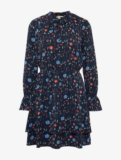 Tom Tailor Denim Blusenkleid Kleid mit floralem Print