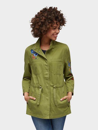 Tom Tailor Denim Cargojacke Jacke mit Taschen
