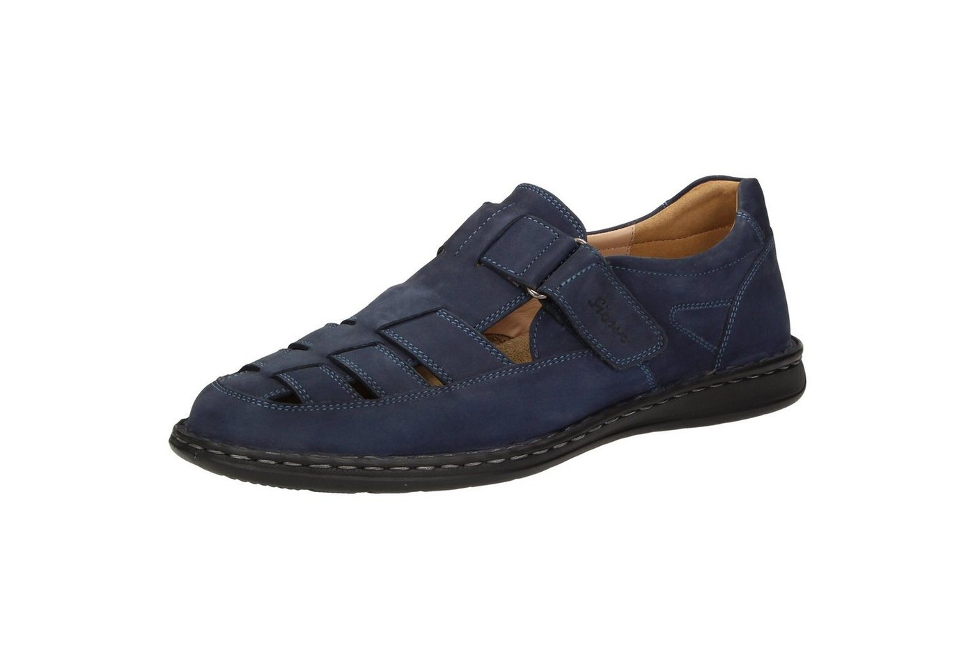 Herren SIOUX Elcino Sandale blau   04054765373790