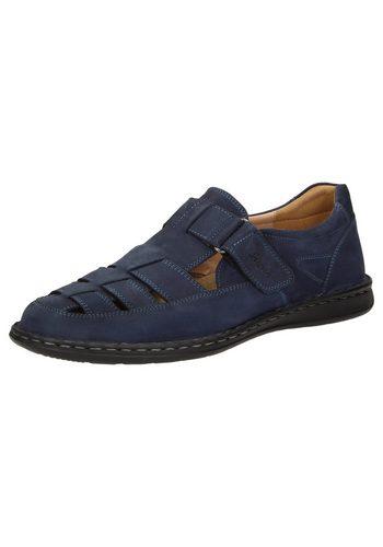 Herren SIOUX Elcino Sandale blau   04054765373783
