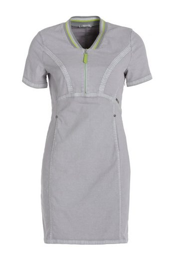 TUZZI Kleid Sportives Sweatkleid in gekalkter Optik