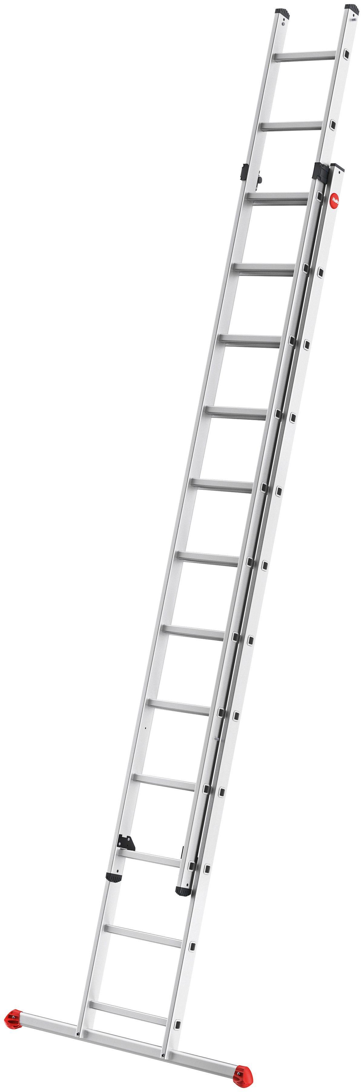 HAILO Leiter »ProfiStep«, 2-teilige Alu-Schiebeleiter | Baumarkt > Leitern und Treppen > Schiebeleiter | Hailo