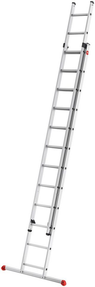 HAILO Leiter »ProfiStep«, 2-teilige Alu-Schiebeleiter   Baumarkt > Leitern und Treppen > Schiebeleiter   Hailo