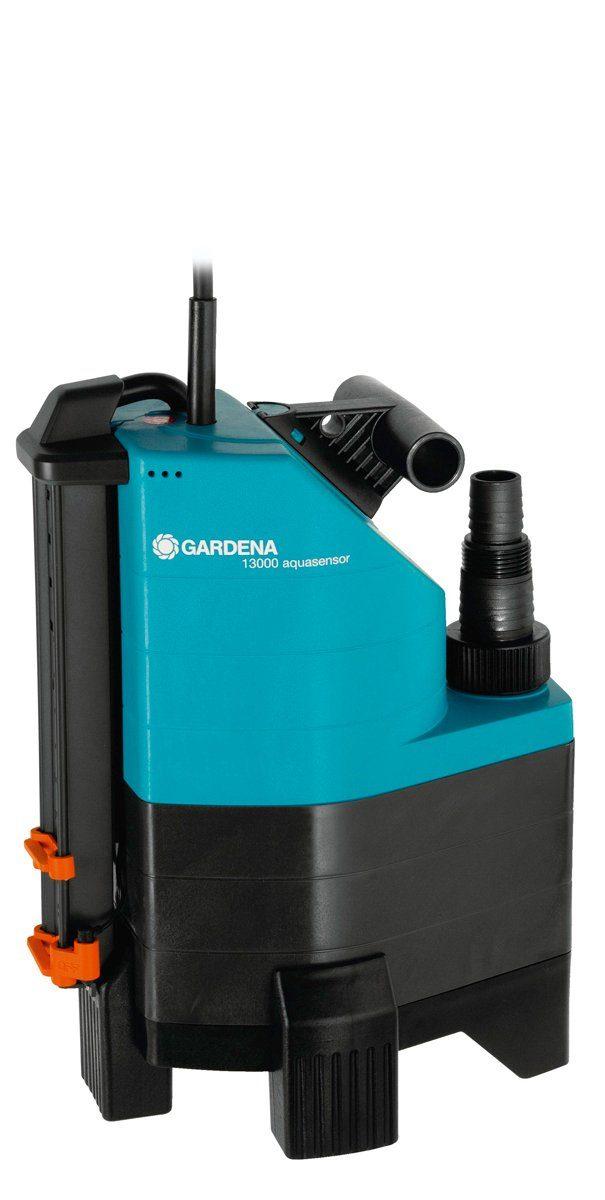 GARDENA Schmutzwasserpumpe »Comfort 13000 aquasensor«, 13.000 l/h max. Fördermenge