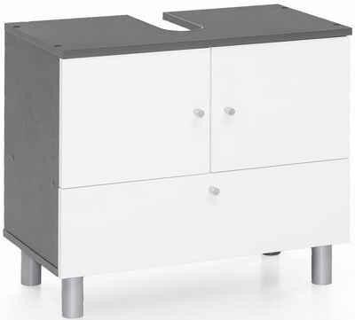 Waschbeckenunterschrank in grau online kaufen | OTTO
