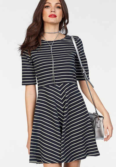 Vero Moda Jerseykleid »ULA«, in maritimer Streifenoptik