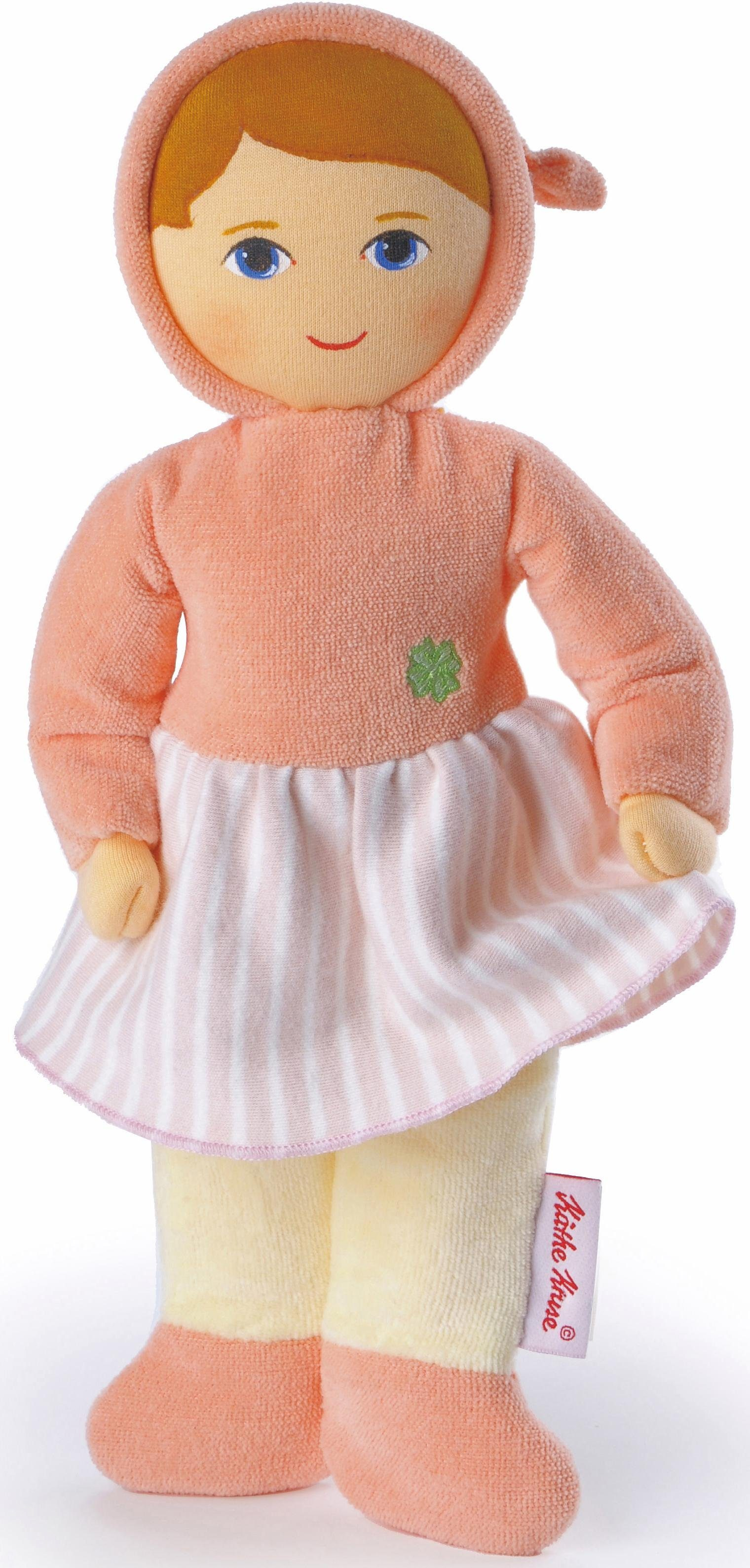 Käthe Kruse Puppe, »Glücksengel Frottee Baby apricot«
