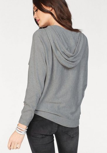Only Strickpullover MIE, mit Kapuze